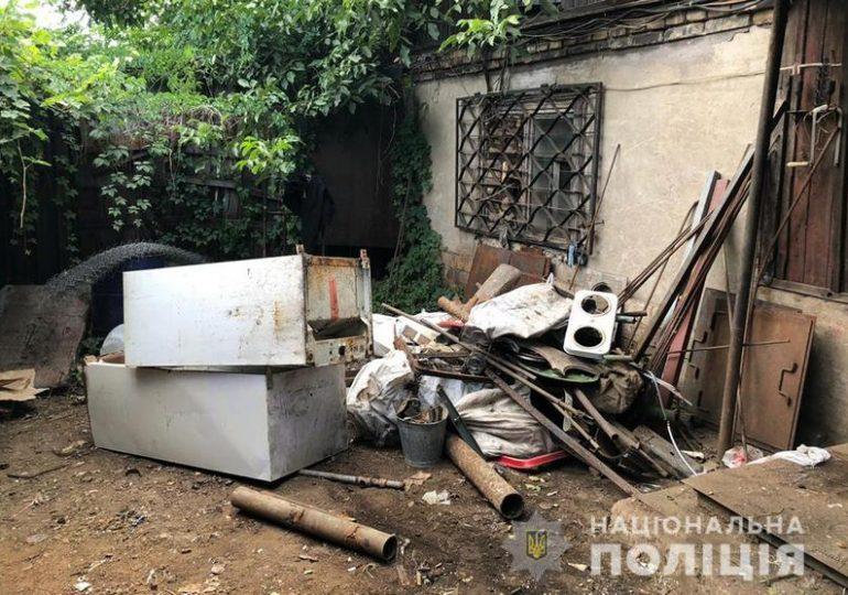 У Запоріжжі поліцейські вилучили більше 1 тонни металобрухту