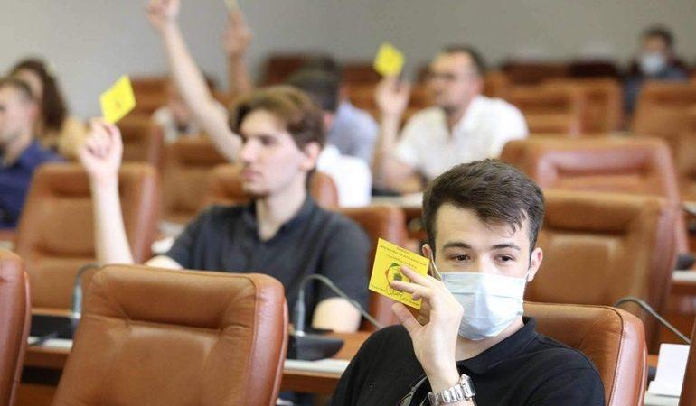 В Запорожье заседал городской молодежный совет