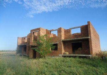 В Запорожской области на аукционе продадут недостроенный жилой дом
