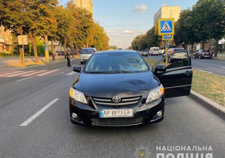 У Вознесенівському районі в результаті аварії постраждала жінка-пішохід