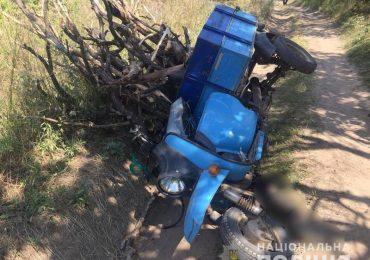 На Запоріжжі під час ДТП загинув водій моторолера