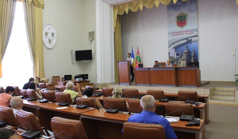 В Запорожье состоялось заседание совета по вопросам развития предпринимательства