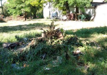 В Запорожье ликвидируют стихийные свалки