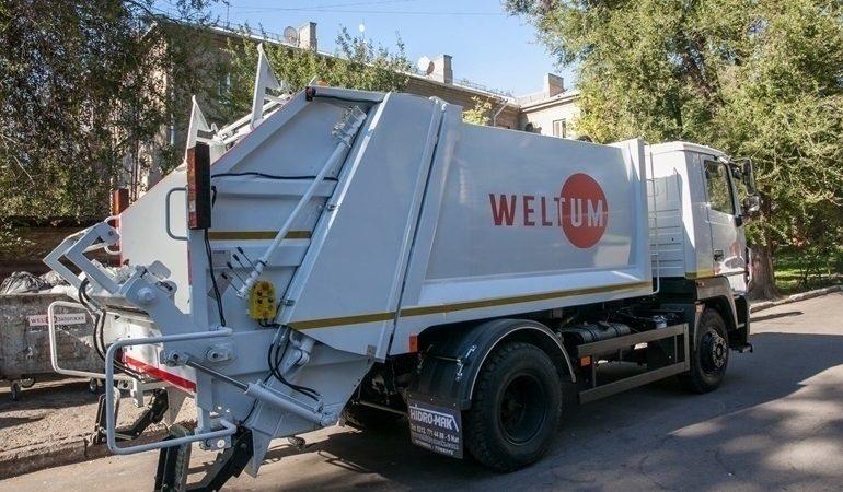 «Вельтум-Запорожье» вывозит мусор с книжного фестиваля «TOLOKA»