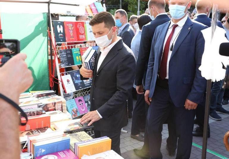 Президент Володимир Зеленський відвідав центральну локацію  фестивалю Toloka