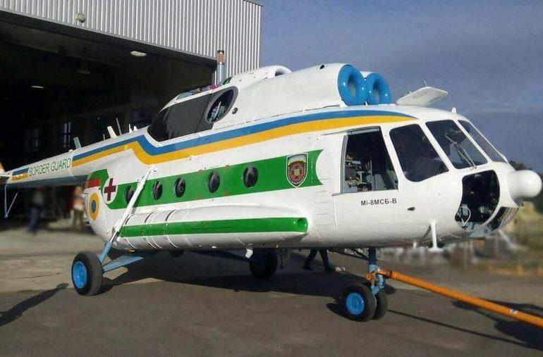 В Запорожье отремонтировали вертолет для Госпогранслужбы Украины