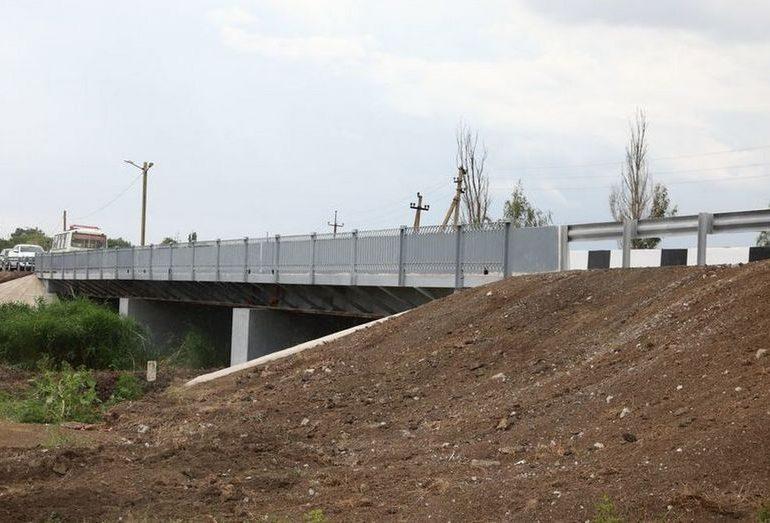 В Запорожской области восстановили мост через Конку