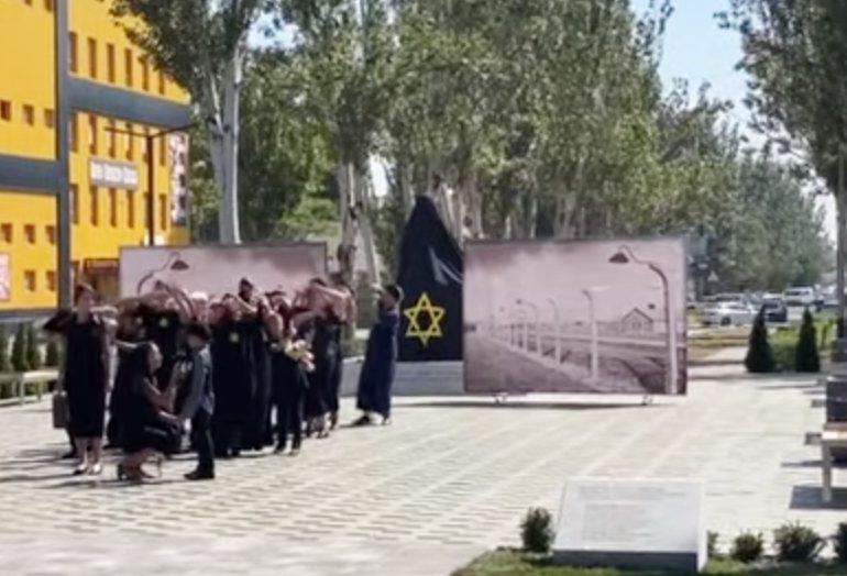 В Мелитополе открыли мемориал жертвам Холокоста