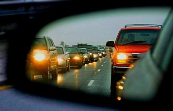 Вниманию водителей! С 1 октября включаем ближний свет фар за пределами города