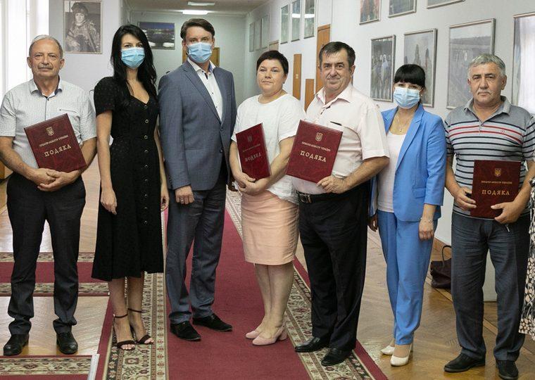 Четверым жителям Запорожской области объявлена благодарность Премьер-министра