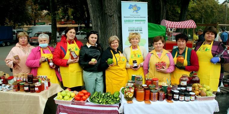 В Запорожье Украину можно было попробовать на вкус
