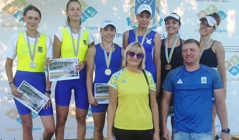 Гребцы из Запорожья на чемпионате Украины завоевали золото и серебро