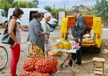 В Бердянске стартовали осенние сельскохозяйственные ярмарки в микрорайонах города
