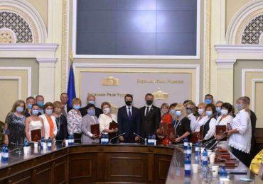 Керівниця «Козацького ліцею» отримала заслужене визнання Верховної Ради України