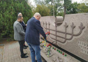 У Запоріжжі вшанували пам'ять жертв нацизму