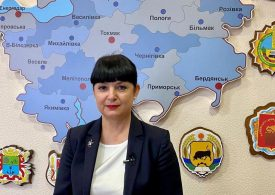 Обращение к запорожцам заместителя главы облгосадминистрации Елены Теряевой