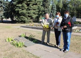 В Запорожье почтили память партизан