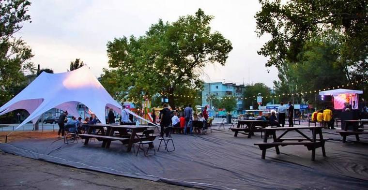 В Запорожье презентовали проект Zaporizhzhia Public Space