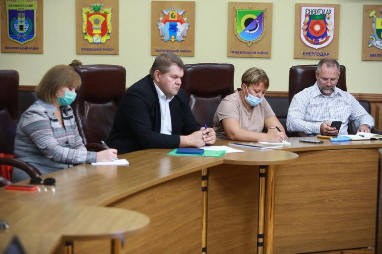 Відбулося засідання робочої групи з розробки стратегії розвитку туризму Запорізької області