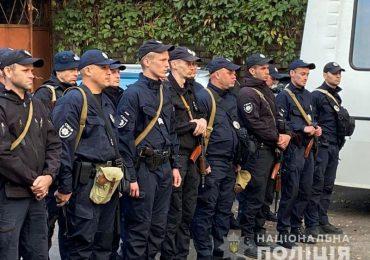 Запорожские полицейские отправились в зону проведения ООС