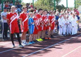 В Бильмакской громаде Запорожской области появилась современная спортплощадка