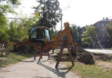 В Запорожье началась реконструкция главного водопровода Вознесеновского района