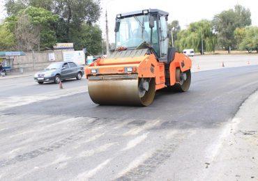 В Заводском районе Запорожья восстанавливают аварийные участки дорог