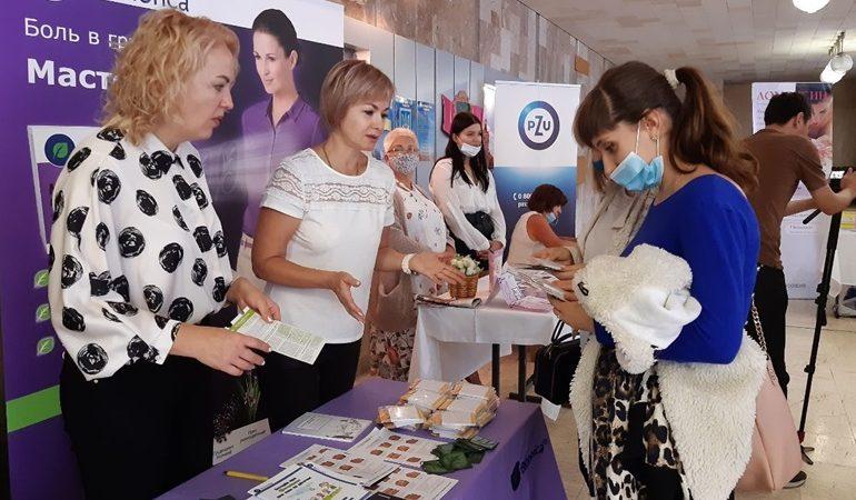 В Запорожье впервые прошел фестиваль «Здоровая семья»