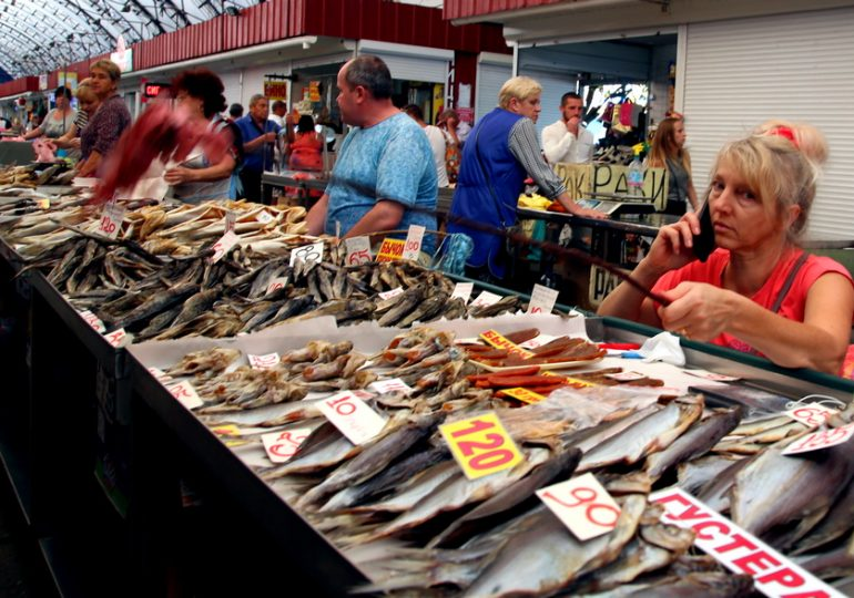 Почем в Бердянске рыба? (видео, фото)