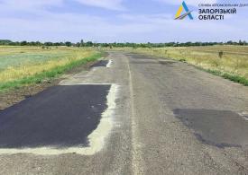 Чотири територіальні дороги Запорізької області позбавилися просідань та тріщин
