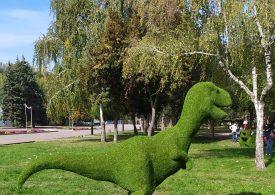 В запорожском парке появились Винни-Пух и все-все-все