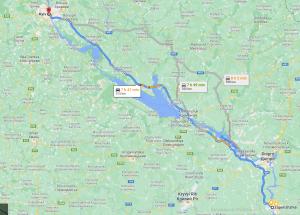 Запорожье Киев маршрут как доехать сколько километров картинка