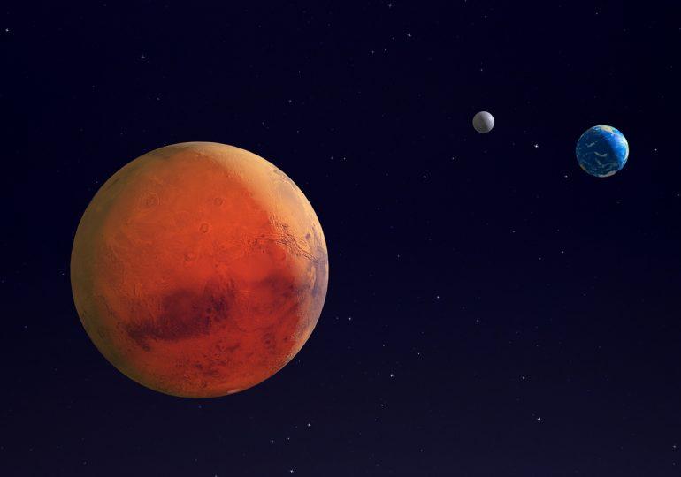 Завтра запорожцы увидят Красную планету