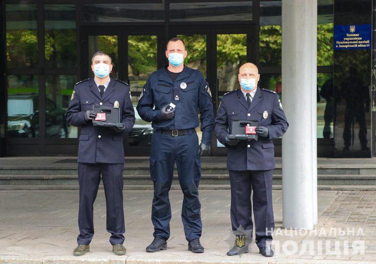 Запорізькі полійцейські отримали державні відзнаки