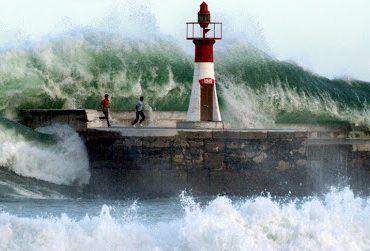 Штормовое предупреждение: в Азовском море ожидаются полутораметровые волны
