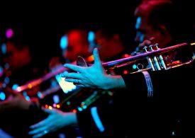 В Запорожье выступил оркестр ВВС США в Европе