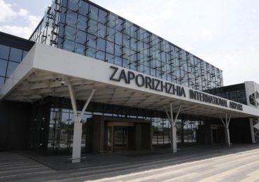 Вандалы «отметились» в новом терминале запорожского аэропорта