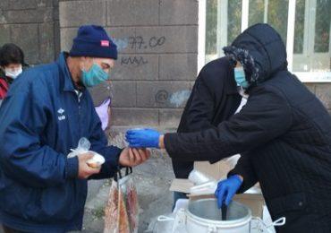 График работы пунктов питания для бездомных в Запорожье