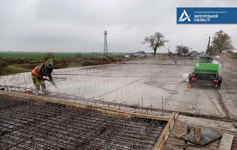 У Запорізькій області мости ремонтуються та будуються без порушень