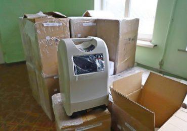 До лікарень Запорізької області надійшло 300 кисневих концентраторів