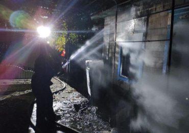 У Кам'янсько-Дніпровському районі на пожежі загинуло двоє чоловіків
