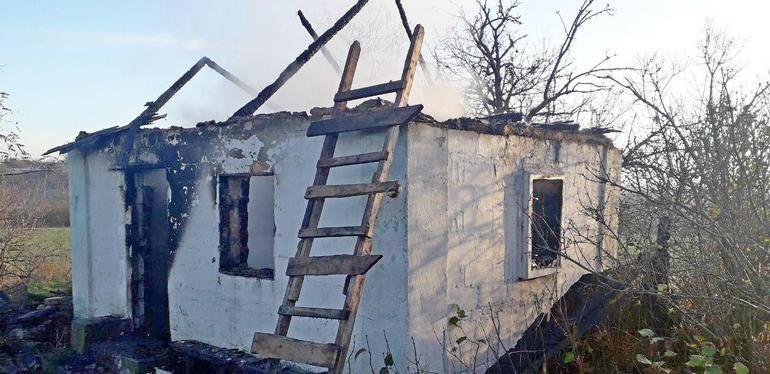 У Бердянському районі на пожежі загинув пенсіонер