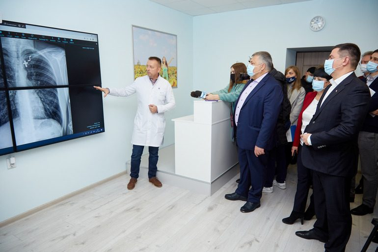 Запорожская облбольница в числе первых в Украине открыла Центр телемедицины