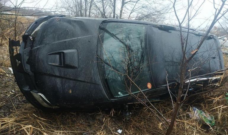 Під Новомиколаївкою перекинулося авто. Загинула жінка