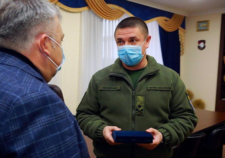 Командира оперативного командування «Схід» нагороджено медаллю «За розвиток Запорізького краю»
