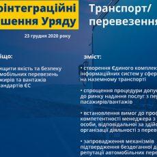 Україна зробила ще один крок до ліцензування автоперевізників за нормами ЄС