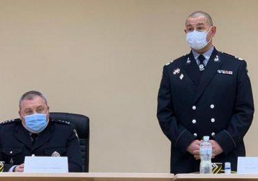 П'ятий територіальний поліцейський підрозділ на Запоріжжі очолив полковник Сергій Дружиненко