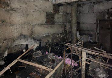 ДБР розслідує обставини пожежі в одній із військових частин ЗСУ в Бердянську