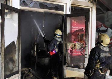 У Запоріжжі рятувальники запобігли вибуху на складі лакофарбових виробів