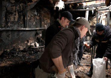 У Запоріжжі рятувальники та волонтери допомогли погорільцям
